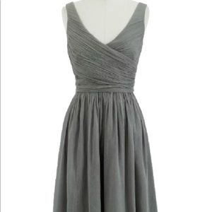 NWT JCrew Heidi Cocktail Dress Gray size 10